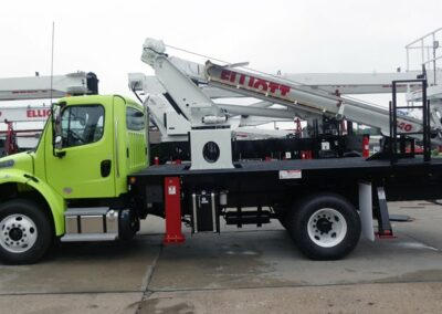lime green g 40 F truck from side