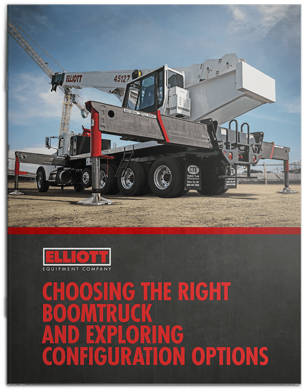 Choosing the Right Boomtruck brochure cover