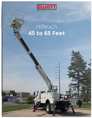 HiReach 45-65 feet brochure cover