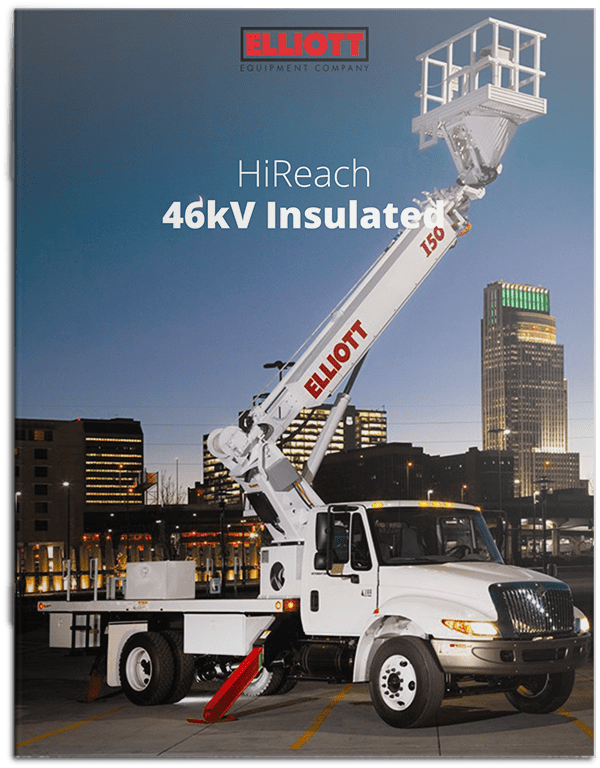 HiReach 46 k v insulated brochure cover