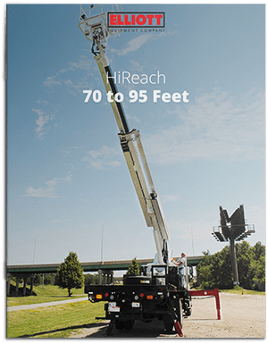 HiReach 70-95 Feet Brochure cover