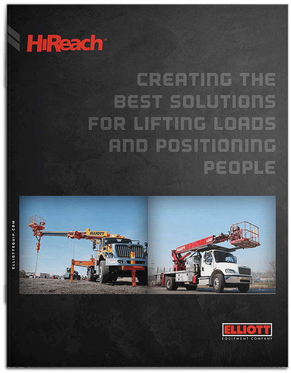 HiReach Full Line brochure cover