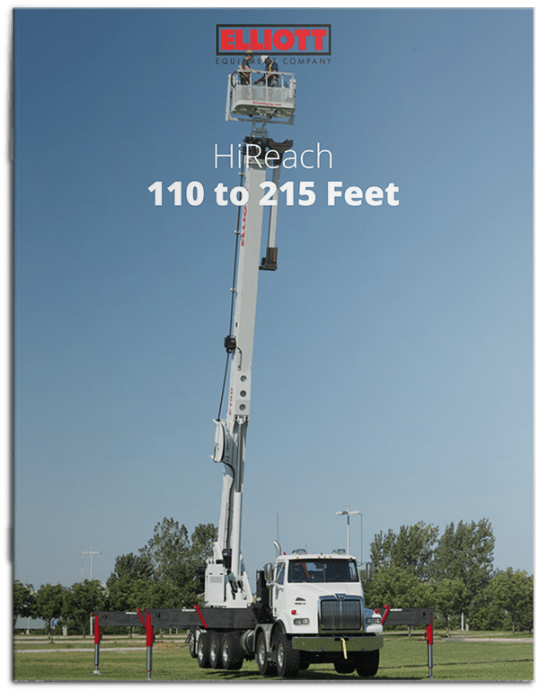 HiReach Working Height 110-215 brochure cover