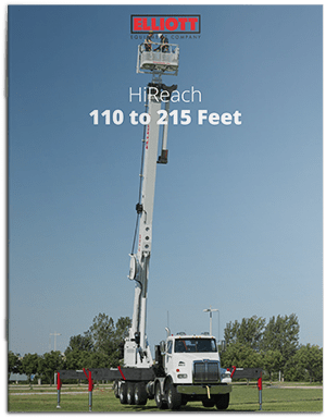HiReach 110-215 feet brochure cover