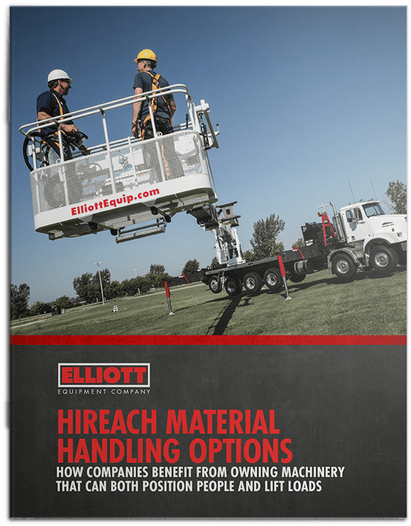 HiReach A better material handling option brochure cover