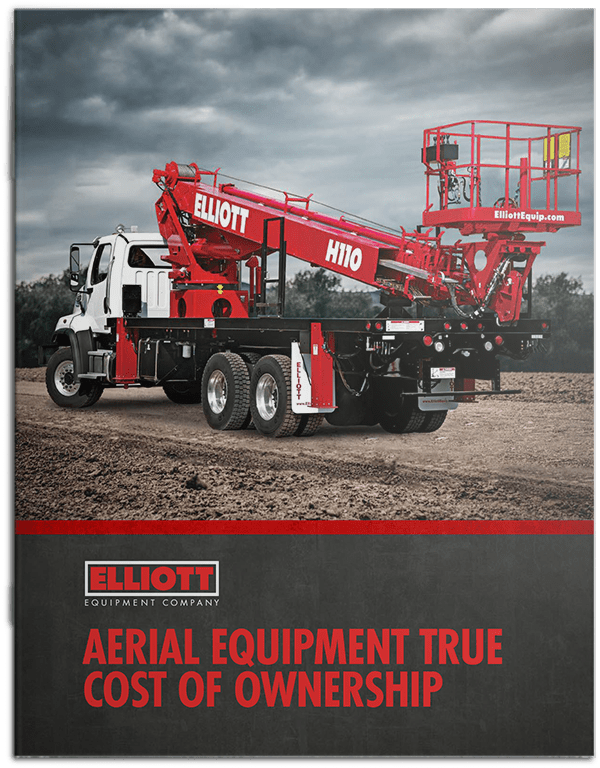 Aerial Equipment True Cost of Ownership brochure cover