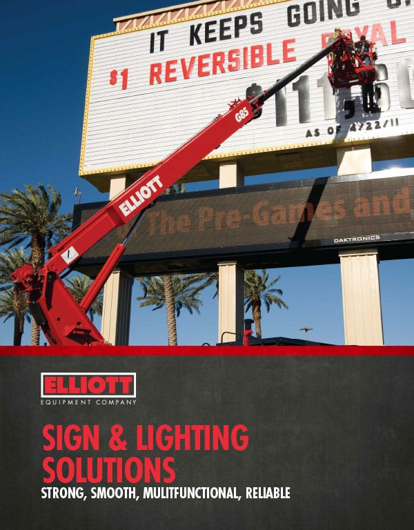 Sign and Lighting Industry brochure cover